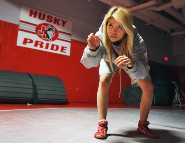 Girls wrestling sexy Hannah Ferguson